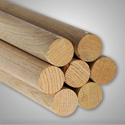 Group photo of Oak Dowel Rods