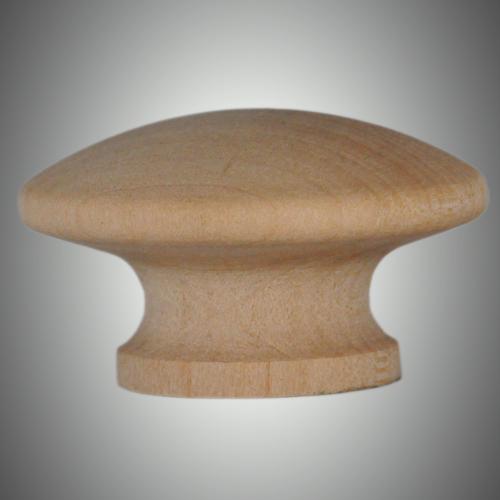 Wooden Mushroom Knob