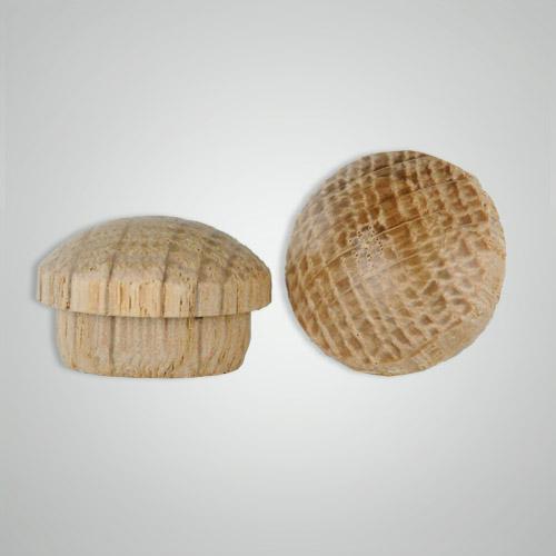 1 Quot Mushroom Button Plugs Oak Wholesale Wooden Button Plugs