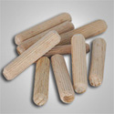 Grooved and Fluted Dowel Pins