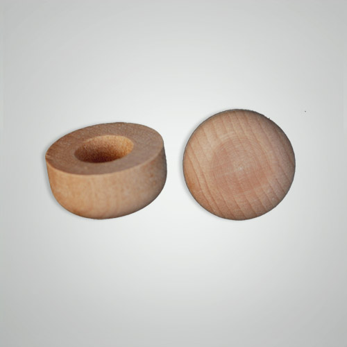 Wood Toy Axle Axle Cap 14 Hole Wholesale Wooden Toy Parts